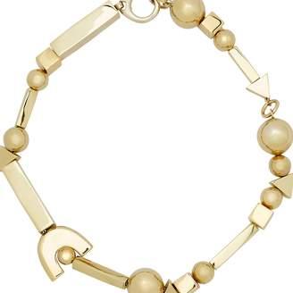 Jil Sander Geometric necklace