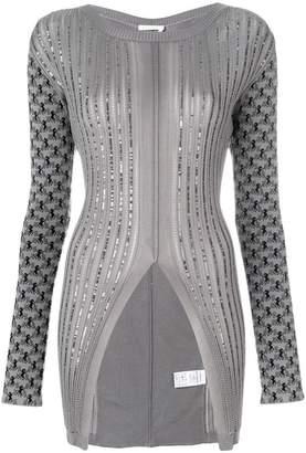 Chloé horse-intarsia sequined jumper