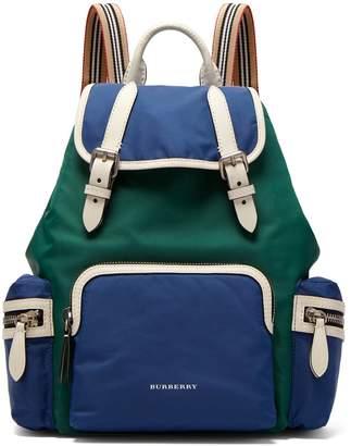 Burberry Medium nylon rucksack