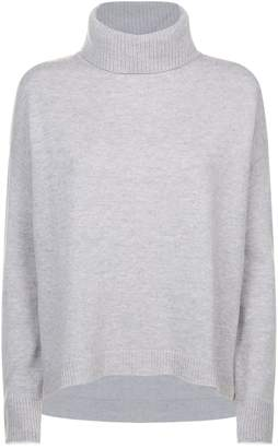 Escada Sport Wool-Cashmere Turtleneck Sweater