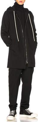 Rick Owens Zip Up Hoodie