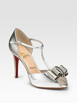 Christian Louboutin Archidisco T-Strap Sandals