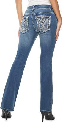 Apt. 9 Women's Embellished Midrise Bootcut Jeans