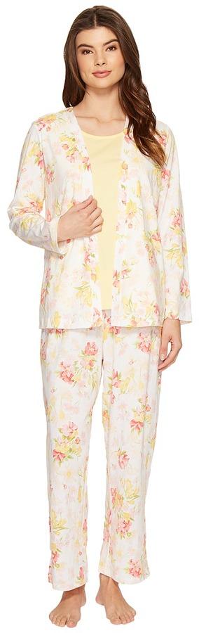 Carole HochmanCarole Hochman - Three-Piece Pajama Set Women's Pajama Sets
