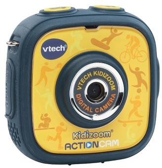 VTech Kidizoom Action Cam - YellowBlack $44.99 thestylecure.com