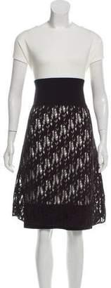 Chanel Knit A-line Dress w/ Tags