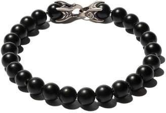 David Yurman Spiritual Beads black onyx bracelet
