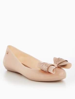 Zaxy Pop Glam Jelly Ballerina - Vanilla