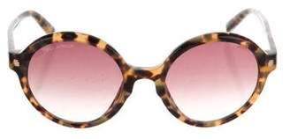 DSQUARED2 Tortoiseshell Round Sunglasses