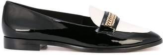 Sophia Webster colour block loafers