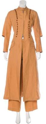 Gianfranco Ferre Button-Accented Pants Suit
