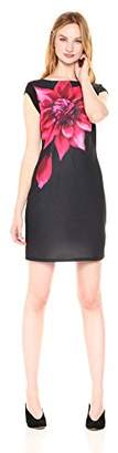 Desigual Women's Ulianne Woman Knitted Short Sleeve Dress