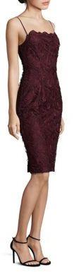 Black Halo Sora Lace Sheath Metamorphose Dress $485 thestylecure.com