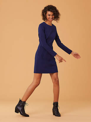 Diane von Furstenberg Long Sleeve Capreena Dress