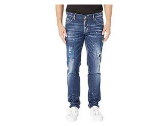 DSQUARED2 Perfection Wash Slim Jeans in Blue