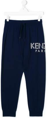 Kenzo logo print jogging trousers