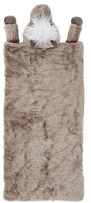 Pottery Barn Kids Faux Fur Shetland Pony Sleeping Bag, Sleeping Bag, Taupe