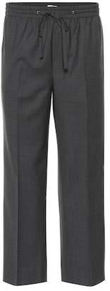 Miu Miu Checked wool pants