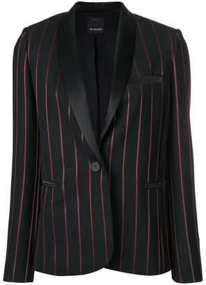 Pinko striped tuxedo blazer