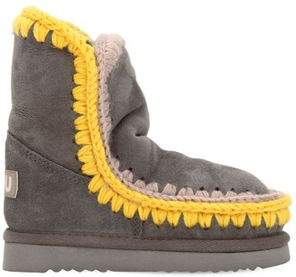 Mou ESKIMO SUEDE SHEARLING BOOTS