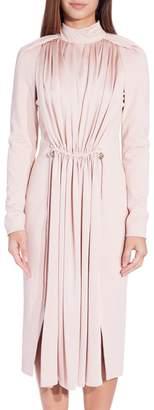 Carven Long Sleeve Dress Blush