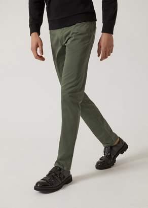 Emporio Armani J06 Slim Fit Stretch Cotton Jeans