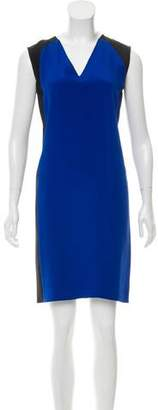 Derek Lam Sleeveless Colorblock Dress