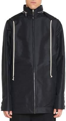 Rick Owens Cotton Hooded Jacket