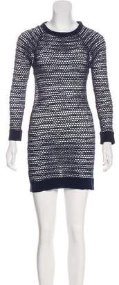 Isabel Marant Open Knit Mini Dress