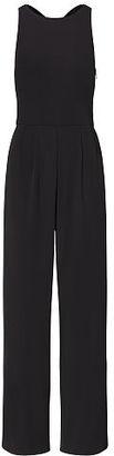 Ralph Lauren Jersey Wide-Leg Jumpsuit $160 thestylecure.com