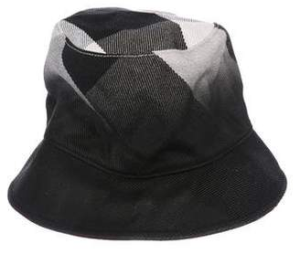 Burberry Smoked Check Bucket Hat