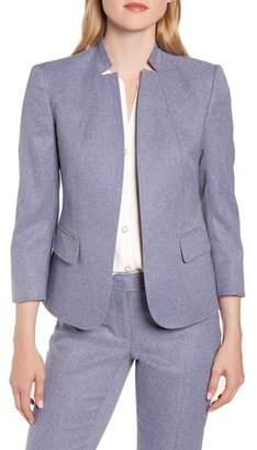 Anne Klein Heather Twill Suit Jacket
