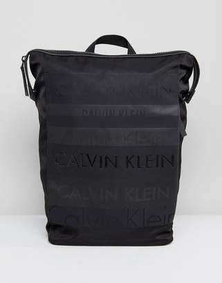 Calvin Klein Multi Logo Large Backpack