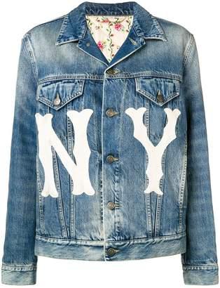 Gucci printed loose jacket