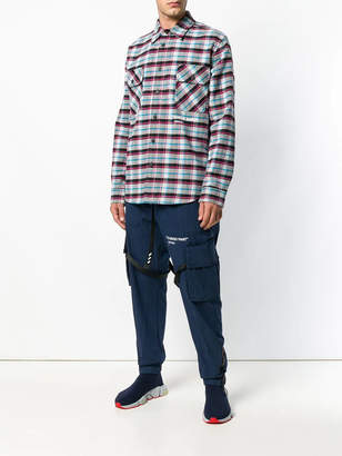 Off-White Off White Check long-sleeve shirt