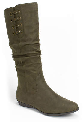 White Mountain Cliffs By Fiona Tall Boots Women Shoes