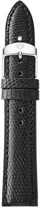 Michele Black Lizard Strap, 18mm