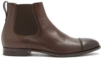 Ermenegildo Zegna Ruben leather chelsea boots