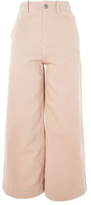 Topshop Twill sailor crop trousers $68 thestylecure.com