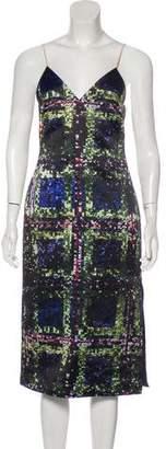 Cédric Charlier Printed Midi Dress w/ Tags