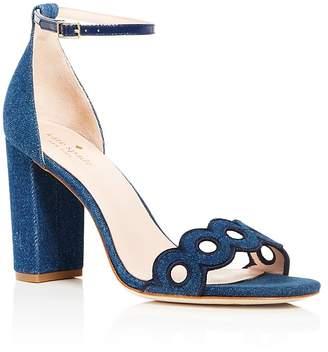 Kate Spade Women's Orson Denim Ankle Strap Sandals
