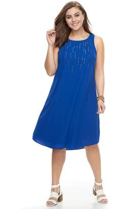 Apt. 9 Plus Size High-Low Shift Dress