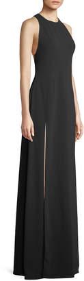 Jill Stuart Wren Sleeveless Back-Cascade Gown