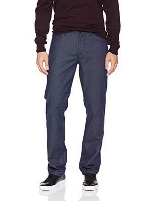 Perry Ellis Men's Slim Fit Slubbed Stretch Denim Pant