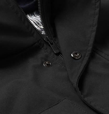 Canada Goose Selwyn Quilted Shell and Canvas Hooded Down Coat