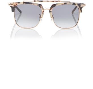 Pared Eyewear Cocktails & Dreams Square-Frame Acetate Sunglasses