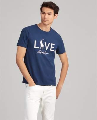 Ralph Lauren Pink Pony Custom Slim T-Shirt