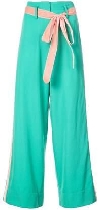 Racil wide leg tuxedo trousers
