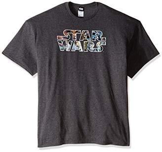 Star Wars Men's Big Epic Logo T-Shirt