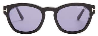 Tom Ford Bryan Square Frame Sunglasses - Mens - Black